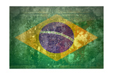 Grunge Flag Of Brasil Art by  yuran-78