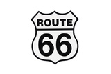 Highway Road Sign Route 66 Prints by  StuckPixel