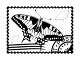 Postage Stamp From Swallowtail Posters by  GUARDING-OWO