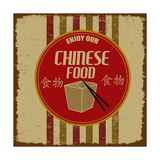 Chinese Foods Vintage Poster Posters by  radubalint
