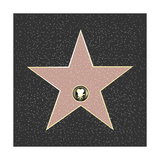 Walk Of Fame Type Star Prints by  barbaliss