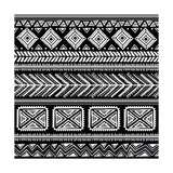 Abstract Tribal Pattern Kunst af transiastock