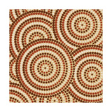 Aboriginal Abstract Art Plakaty autor Piccola