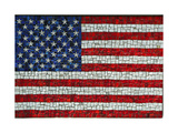 American Flag In Mosaic Posters by Leonard Zhukovsky
