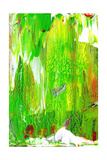 Abstract Green Painting Prints by  oriontrail2