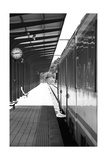 Railway Station Platform Print by ABB Photo