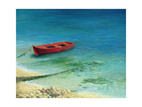 Fishing Boat In Island Corfu Prints by  kirilstanchev