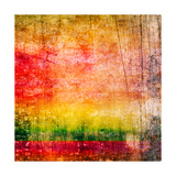 Art Abstract Colorful Background Prints by Irina QQQ