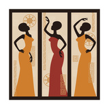 Beautiful African American Women Premium Giclee Print by  Sivanova