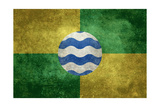 Nairobi Flag - Vintage Version Prints by Bruce stanfield