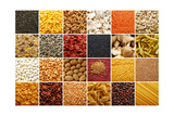 Food Ingredients Collection Plakater af ibogdan