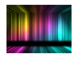 Many Color Lines With 3D Effect Poster by  alexbai