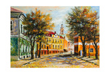 Ancient Vitebsk In The Autumn Posters by  balaikin2009
