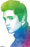 Elvis Presley Watercolor Prints