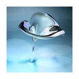 3D Glass Flower Affiches par  kjolak