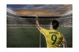 Brazilian Soccer Player Prints by Beto Chagas