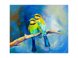 Blue Tailed Bee Eaters Posters par Boyan Dimitrov
