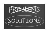 Problem And Solution Concept Prints by  IJdema