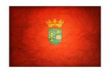 Flag Of Santiago De Compostela Prints by  michal812