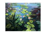 Fleurs de lotus Affiches par  kirilstanchev