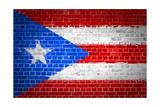 Brick Wall Puerto Rico Art by  Tonygers