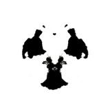 Rorschach Inkblot Print by  kgtoh