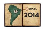 Brazil Championship 2014 Poster by  NatanaelGinting