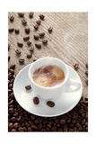 Expresso Coffee End Coffee Beans Prints by  denio109