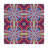 Fabric Design From Latin America Premium Giclee Print by  Sangoiri