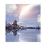 Landscape In Fantasy Planet Prints by  frenta