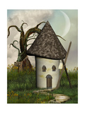 Fantasy Windmill Pósters por  justdd