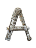 Industrial Metal Alphabet Letter A Prints by  donatas1205