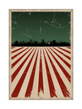 Grunge American Poster Prints by  Benchart