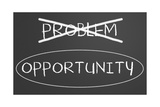 Problems Opportunity Concept Posters by  IJdema