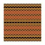 Native American Seamless Pattern Posters by  paulrommer