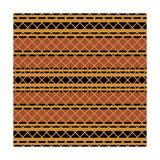 Native American Seamless Pattern Premium Giclee Print by  paulrommer