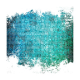 Abstract Mosaic Background Prints by Eky Studio