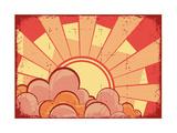 Cartoons Grunge Background Posters by  GeraKTV