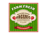 Retro Farm Fresh Poster Design Posters by  Catherinecml