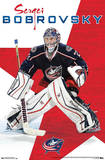 Sergei Bobrovsky Columbus Blue Jackets Prints