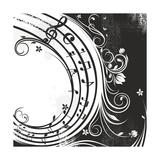 catrin81 - Black And White Music Background - Reprodüksiyon