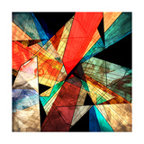 Abstract Geometric Pattern Art by  Tanor