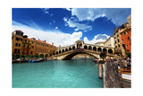 Rialto Bridge In Venice, Italy Art par Iakov Kalinin