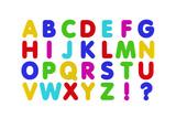 Fridge Magnet Alphabet Art by  badboo