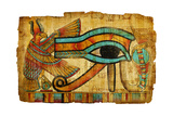 Ancient Egyptian Papyrus Plakat af Maugli-l