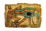 Ancient Egyptian Papyrus Giclée-Premiumdruck von  Maugli-l