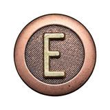 Metal Button Alphabet Letter Art by  donatas1205