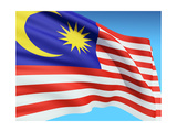 Flag Of Malaysia Prints by  bioraven