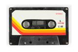 An Old Audio Cassette Kunstdruck von  dubassy