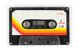 An Old Audio Cassette Print by  dubassy
